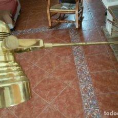 Vintage: LAMAPARA ESTUDIO ,OFICINA DE BRONCE MARCA AGUSTÍ ESTILO INDUSTRIAL. Lote 101109415