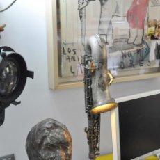 Vintage: LAMPARA HECHA CON UN SAXOFON. Lote 101209083