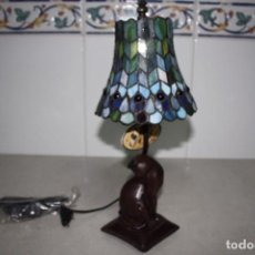 Vintage: ANTIGUA A ESTRENAR LÁMPARA TIFFANY. AÑO 80. Lote 102058463