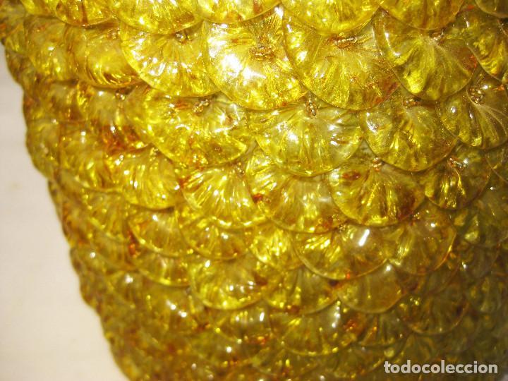 Vintage: PRECIOSO APLIQUE LAMPARA VINTAGE FLORES CRISTAL MURANO TIPO BAROVIER & TOSSO - Foto 3 - 102708323