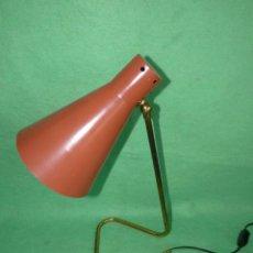 Vintage: BELLA LAMPARA TIPO JEAN BORIS LACROIX GINO SARFATTI STILNOVO ARTELUCE AÑOS 50 SPACE AGE MID CENTURY. Lote 102851719