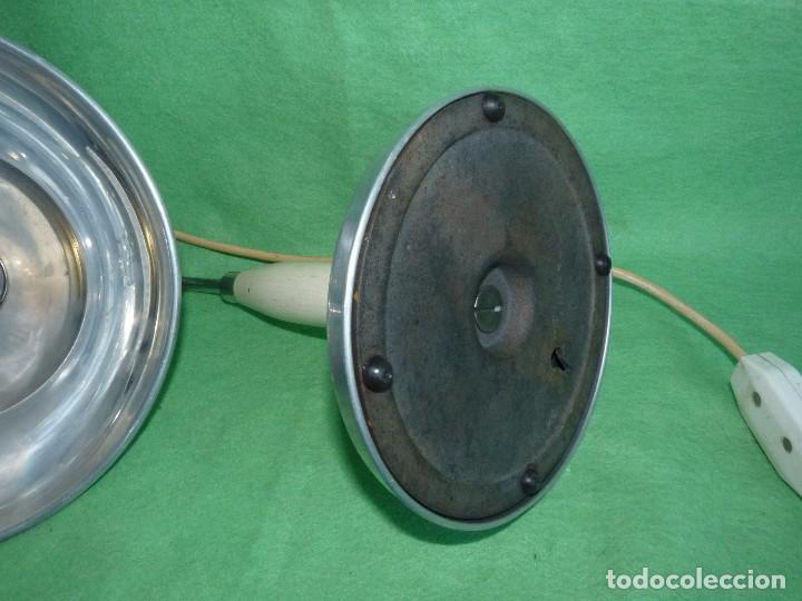 Vintage: PRECIOSA LAMPARA SOBREMESA Kurt Rosenthal DISEÑO INDUSTRIAL ALEMANIA AÑOS 50 MID CENTURY VINTAGE - Foto 6 - 102867223