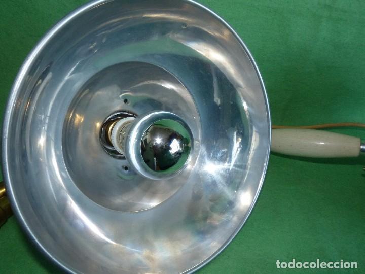 Vintage: PRECIOSA LAMPARA SOBREMESA Kurt Rosenthal DISEÑO INDUSTRIAL ALEMANIA AÑOS 50 MID CENTURY VINTAGE - Foto 7 - 102867223
