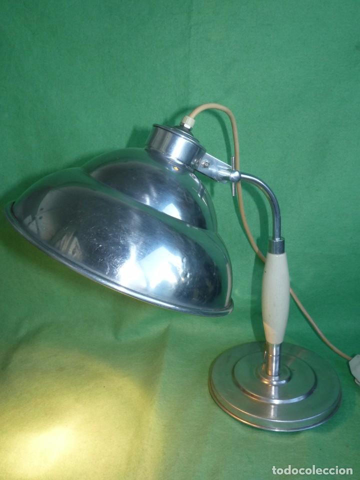 Vintage: PRECIOSA LAMPARA SOBREMESA Kurt Rosenthal DISEÑO INDUSTRIAL ALEMANIA AÑOS 50 MID CENTURY VINTAGE - Foto 9 - 102867223