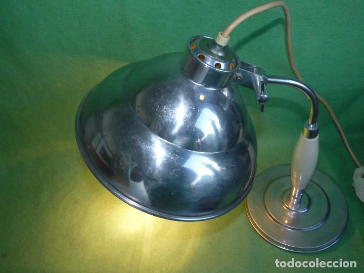 Vintage: PRECIOSA LAMPARA SOBREMESA Kurt Rosenthal DISEÑO INDUSTRIAL ALEMANIA AÑOS 50 MID CENTURY VINTAGE - Foto 10 - 102867223