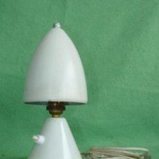 Vintage: GENIAL LAMPARA SETA COHETE SOBREMESA ROCKET FRANCIA AÑOS 50 SPACE AGE MID CENTURY DISEÑO VINTAGE. Lote 103033583