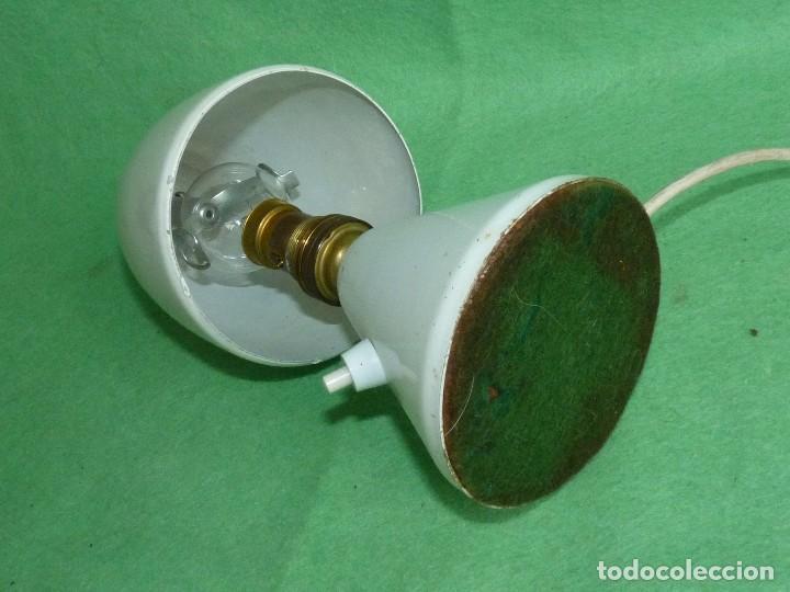 Vintage: GENIAL LAMPARA SETA COHETE SOBREMESA ROCKET FRANCIA AÑOS 50 SPACE AGE MID CENTURY DISEÑO VINTAGE - Foto 8 - 103033583