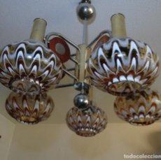 Vintage: LAMPARA VINTAGE. MURANO MAZZEGA. ITALIA. AÑOS 1960-70. FUNCIONAMIENTO.. Lote 103776703