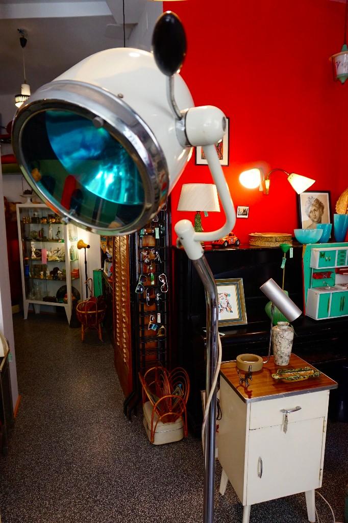 Vintage: lámpara grande de pie consulta medica clinica de los años 50 vintage antigua hanau quirofano - Foto 2 - 104127195
