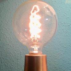 Vintage: LAMPARA PLAFON EN LATON VIEJO. Lote 104414271