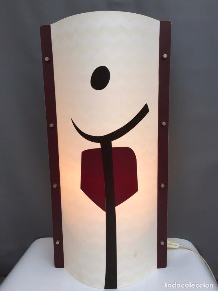 LAMPARA MESA SLAMP SAMUEL PARKER MOD. TRIBE- EN OPALFLEX - DISEÑO DE ANDREA FIGONI - ITALIA 2003 (Vintage - Lámparas, Apliques, Candelabros y Faroles)