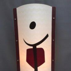Vintage: LAMPARA MESA SLAMP SAMUEL PARKER MOD. TRIBE- EN OPALFLEX - DISEÑO DE ANDREA FIGONI - ITALIA 2003. Lote 104904327