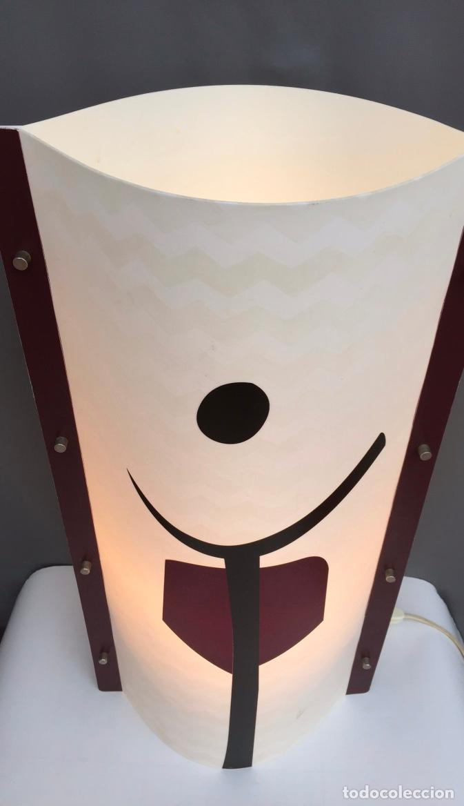Vintage: LAMPARA MESA SLAMP SAMUEL PARKER MOD. TRIBE- EN OPALFLEX - DISEÑO DE ANDREA FIGONI - ITALIA 2003 - Foto 4 - 104904327
