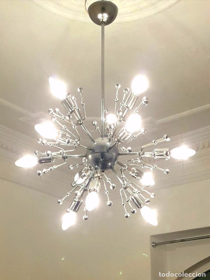 lampara techo vintage sputnik - comprar lámparas vintage, apliques