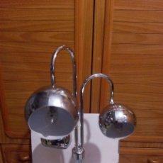 Vintage: LAMPARA MESA VITANGE CROMADA AÑOS 70. Lote 105714339
