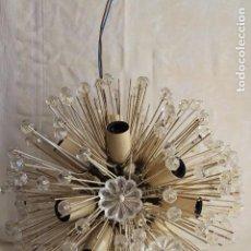 Vintage: ORIGINAL LAMPARA DE DISEÑO SPUTNIK MUY VINTAGE DISEÑADA BY EMIL STEJNAR AÑOS 60S SNOWBALL. Lote 106631251