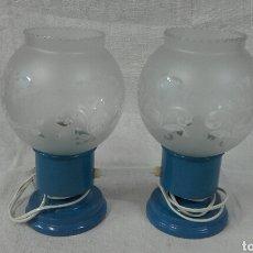 Vintage: LAMPARILLAS DE DORMITORIO CIRCA 1960 VINTAGE. Lote 108268055