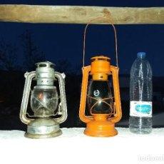 Vintage: ANTIGUO FAROL CANDIL LAMPARA ANTIGUA DE ACEITE O PETRÓLEO. Lote 108279327