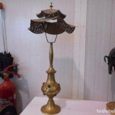 Vintage: LAMPARA DE MESA ESTILO ARABE 60 CM ALTURA. Lote 109430235