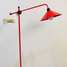 Vintage: LAMPARA DE PIE, TIPO INDUSTRIAL. Lote 64228003