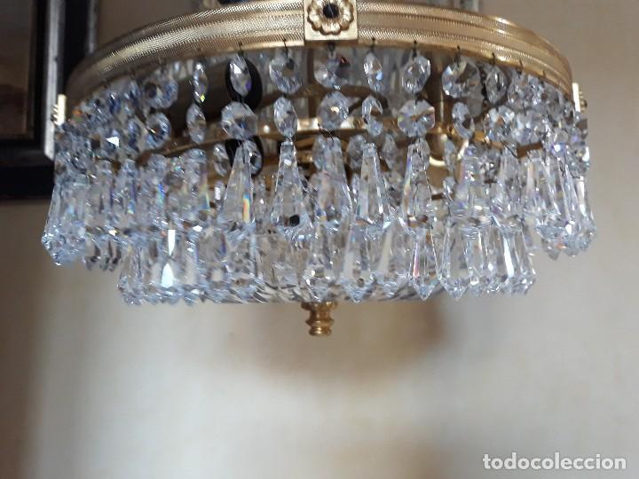 PLAFÓN- LAMPARA TECHO (Vintage - Lámparas, Apliques, Candelabros y Faroles)