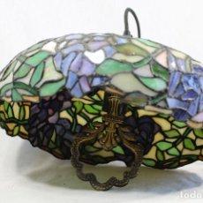 Vintage: LAMPARA DE TECHO TIPO TIFFANY. Lote 111313919