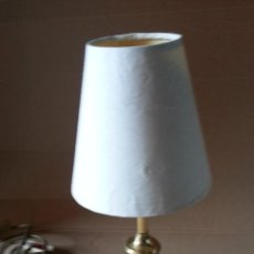 Vintage: LAMPARA DE SOBREMESA BRONCE. Lote 111921171