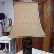 Vintage: LAMPARA SOBREMESA ESTILO ORIENTAL. Lote 112139083