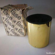 Vintage: INUSUAL FOCO DE TECHO FASE - DORADO - A ESTRENAR CAJA ORIGINAL!. Lote 112380523