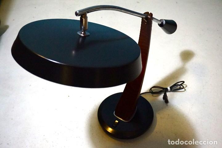 Vintage: lámpara fase madrid pendulo lamp flexo lampe - Foto 2 - 112605247