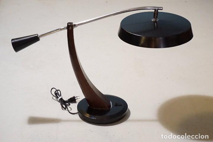 LÁMPARA FASE MADRID PENDULO LAMP FLEXO LAMPE (Vintage - Lámparas, Apliques, Candelabros y Faroles)