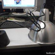 Vintage: LAMPARA INDUSTRIAL VINTAGE FOCO CON 130 CM CABLE PARA COLOCAR A LA ALTURA SE QUIERA NUEVA. Lote 113648155