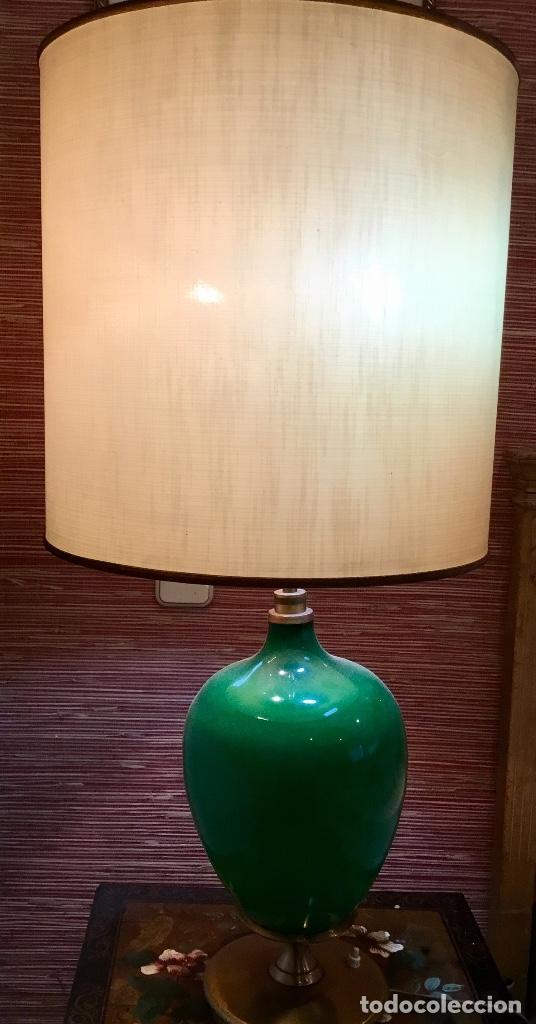 ORIGINAL LAMPARA VINTAGE AÑOS 70 . (Vintage - Lámparas, Apliques, Candelabros y Faroles)
