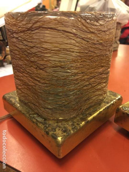 Vintage: Curiosa pareja de lamparas Vintage. Ver fotos y medidas - Foto 14 - 114592827