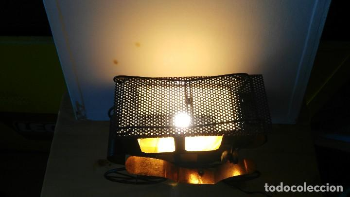Vintage: diligencia- carruaje - lampara -iluminada a corriente - Foto 10 - 114701211