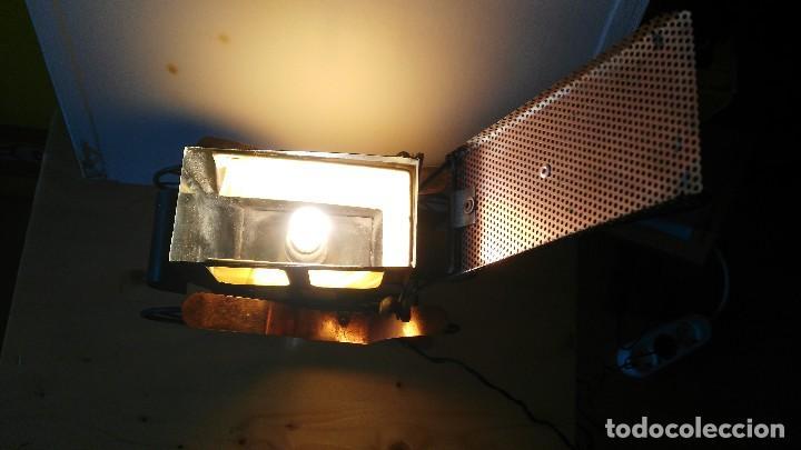 Vintage: diligencia- carruaje - lampara -iluminada a corriente - Foto 11 - 114701211