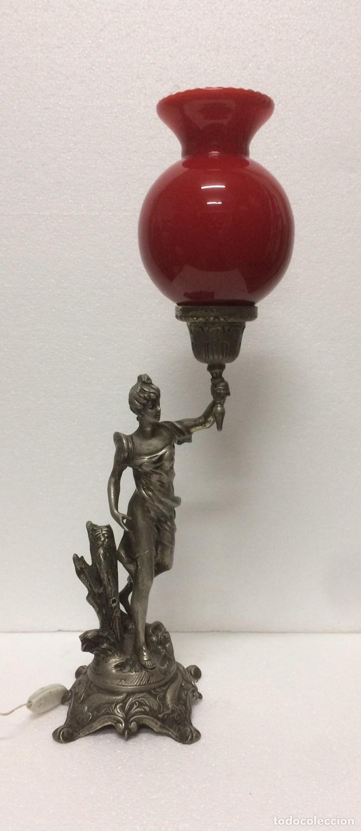 LAMPARA SOBRE MESA BRINCE (Vintage - Lámparas, Apliques, Candelabros y Faroles)
