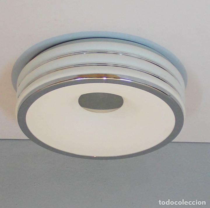PLAFON O LAMPARA ESTILO SPACE AGE. (Vintage - Lámparas, Apliques, Candelabros y Faroles)