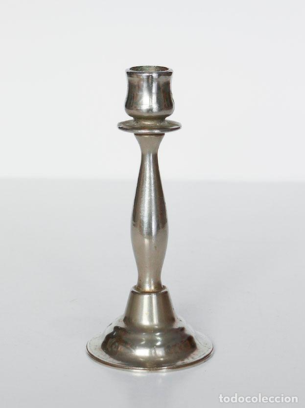 CANDELABRO DE METAL (Vintage - Lámparas, Apliques, Candelabros y Faroles)