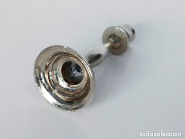 Vintage: Candelabro de metal - Foto 2 - 116647055