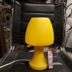Vintage: LAMPARA DE MESA CRISTAL . Lote 116764371