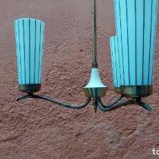 Vintage: LAMPARA DE TECHO AÑOS 60. 70. Lote 117027803