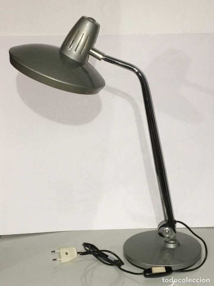 ANTIGUA LAMPARA DE SOBREMESA FLEXO FASE - VINTAGE AÑOS 60 (Vintage - Lámparas, Apliques, Candelabros y Faroles)