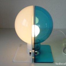 Vintage: LAMPARA SOBREMESA PLASTICO GUZZINI ITALIA . Lote 117688243