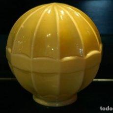 Vintage: TULIPA GLOBO ANTIGUO VINTAGE MODERNISTA ART DECO OPALINA LAMPARA. Lote 117833887