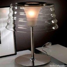 Vintage: LAMPARA VINTAGE CRISTAL. Lote 118173222