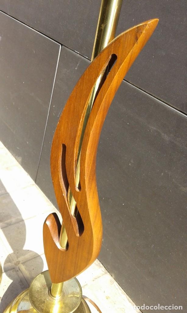 Vintage: Lámpara vintage años 50 MId Century para mesa escritorio cómoda aparador mesilla pareja disponible - Foto 2 - 118213379