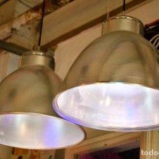 Vintage: LAMPARA TECHO CAMPANA INDUSTRIAL XL . Lote 118313539