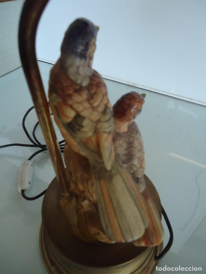 Vintage: lampara con pájaros - Foto 5 - 118774843