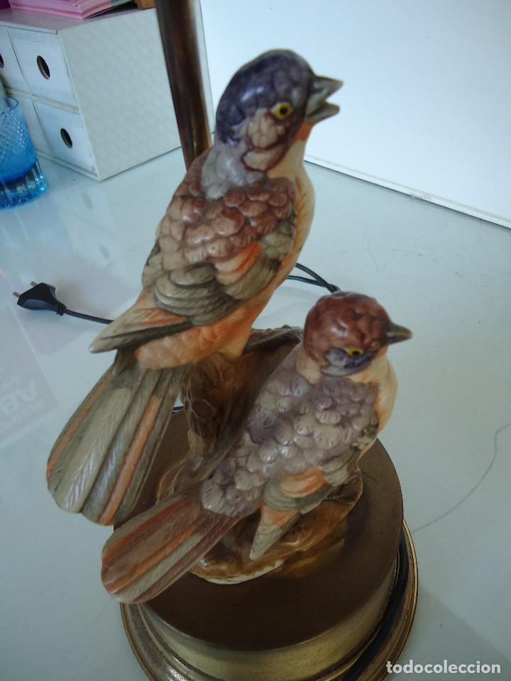 Vintage: lampara con pájaros - Foto 6 - 118774843